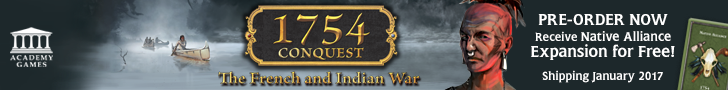 Academy Games 1754 Conquest