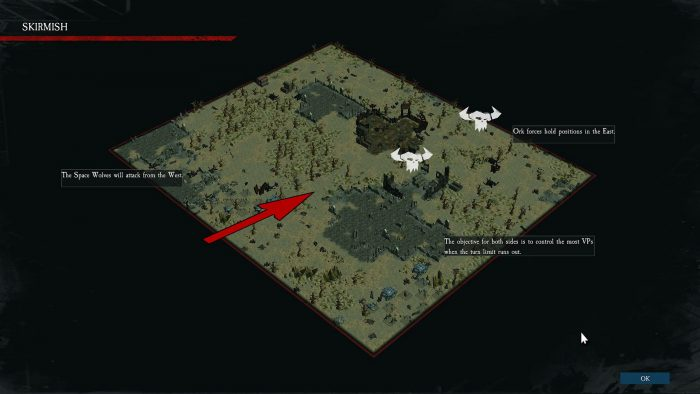 The battlemap looks strangely reminiscent of Slitherine's popular Battle Academy series…