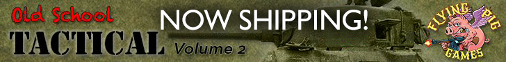 Old School Tactical 2 - West Front, now shipping!