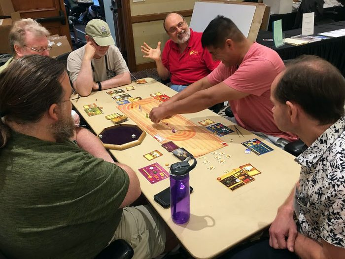 VPG Corner playing Chariot Rome
