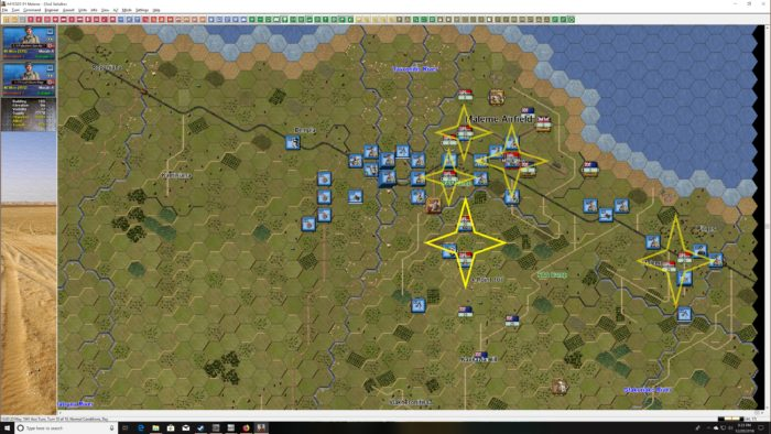 Turn 10 AF captured assuring victory of Operation Merkur OBJ