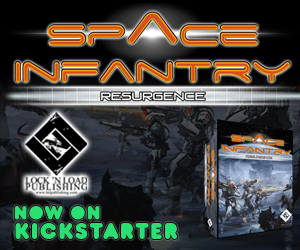 Space Infantry Resurgence Now on Kickstarter Square BGG Banner