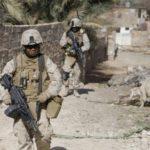 BlackGIs afghan marine patrol in hit